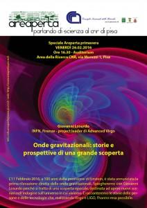 Seminario sulle onde gravitazionali